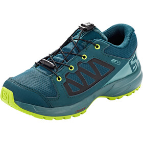 Salomon XA Elevate CSWP Shoes Kids reflecting pond/hydro./acid lime
